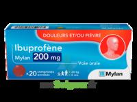 Ibuprofene Mylan 200 Mg, Comprimé Enrobé à LA ROCHE SUR YON