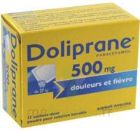 Doliprane 500 Mg Poudre Pour Solution Buvable En Sachet-dose B/12 à LA ROCHE SUR YON