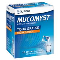 Mucomyst 200 Mg Poudre Pour Solution Buvable En Sachet B/18 à LA ROCHE SUR YON