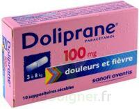 Doliprane 100 Mg Suppositoires Sécables 2plq/5 (10) à LA ROCHE SUR YON