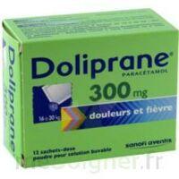 Doliprane 300 Mg Poudre Pour Solution Buvable En Sachet-dose B/12 à LA ROCHE SUR YON