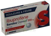 Ibuprofene Sandoz Conseil 200 Mg, Comprimé Enrobé à LA ROCHE SUR YON