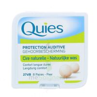 Quies Protection Auditive Cire Naturelle 8 Paires à LA ROCHE SUR YON