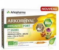 Arkoroyal Immunité Fort Solution Buvable 20 Ampoules/10ml à LA ROCHE SUR YON