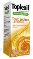 Toplexil 0,33 Mg/ml Sans Sucre Solution Buvable 150ml à LA ROCHE SUR YON