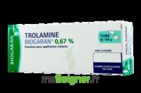 Trolamine Biogaran 0,67 % Emuls Appl Cut T/186g à LA ROCHE SUR YON