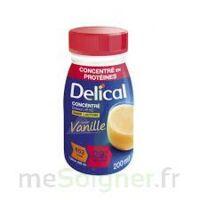 Delical Boisson Hp Hc Concentree Nutriment Vanille 4bouteilles/200ml à LA ROCHE SUR YON