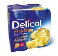 Delical Boisson Fruitee Nutriment Ananas 4bouteilles/200ml à LA ROCHE SUR YON