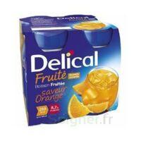 Delical Boisson Fruitee Nutriment Orange 4bouteilles/200ml à LA ROCHE SUR YON