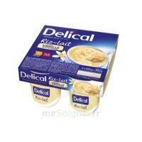 Delical Riz Au Lait Nutriment Vanille 4pots/200g à LA ROCHE SUR YON