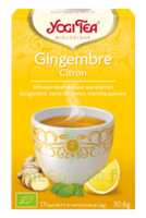 Yogi Tea Gingembre Citron à LA ROCHE SUR YON