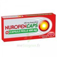Nurofencaps 400 Mg Caps Molle Plq/10 à LA ROCHE SUR YON