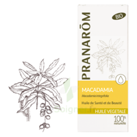 Pranarom Huile Végétale Bio Macadamia 50ml à LA ROCHE SUR YON