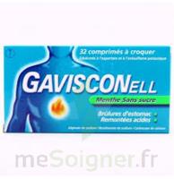 Gavisconell Coprimés à Croquer Sans Sucre Menthe édulcoré à L'aspartam Et à L'acésulfame Potas Plq/24 à LA ROCHE SUR YON