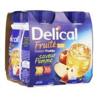 Delical Boisson Fruitee Nutriment Pomme 4bouteilles/200ml à LA ROCHE SUR YON