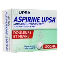 Aspirine Upsa Tamponnee Effervescente 1000 Mg, Comprimé Effervescent à LA ROCHE SUR YON