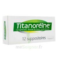 Titanoreine Suppositoires B/12 à LA ROCHE SUR YON