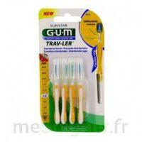 Gum Trav - Ler, 1,3 Mm, Manche Jaune , Blister 4 à LA ROCHE SUR YON