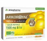 Arkoroyal Gelée Royale Bio 1500 Mg Solution Buvable 20 Ampoules/10ml à LA ROCHE SUR YON