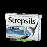 Strepsils Lidocaïne Pastilles Plq/24 à LA ROCHE SUR YON