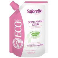 Saforelle Solution Soin Lavant Doux Eco-recharge/400ml à LA ROCHE SUR YON