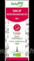 Herbalgem Sirop Bio Refroidissement 150ml à LA ROCHE SUR YON