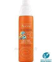 Avène Eau Thermale Solaire Spray Enfant 50+ 200ml à LA ROCHE SUR YON