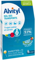 Alvityl Sucette Mal Des Transports B/10 à LA ROCHE SUR YON