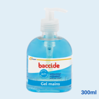 Baccide Gel Mains Désinfectant Sans Rinçage 300ml à LA ROCHE SUR YON