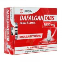 Dafalgantabs 1 G Cpr Pell Plq/8 à LA ROCHE SUR YON