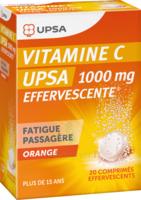 Vitamine C Upsa Effervescente 1000 Mg, Comprimé Effervescent à LA ROCHE SUR YON