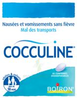 Boiron Cocculine Comprimés Orodispersibles B/40 à LA ROCHE SUR YON
