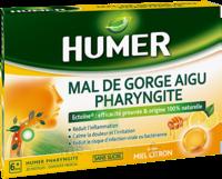 Humer Pharyngite Pastille Mal De Gorge Miel Citron B/20 à LA ROCHE SUR YON